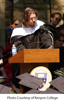 David Foster Wallace, Kenyon College, Commencement