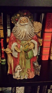 Father Christmas, ornaments, holiday, ceramic