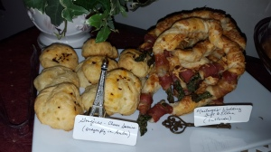 puff pastry, prosciutto, asparagus, appetizer, parmesan, Outlander, gathering