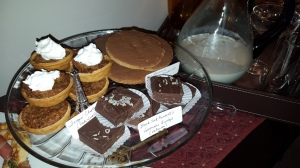 tart, dessert, gathering, walnuts, Outlander, Fergus