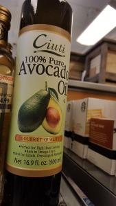 avocado oil, bargain, shopping, musing, S. A. Young