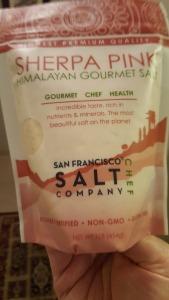Himalayan Pink Salt, shopping, musing, S.A. Young