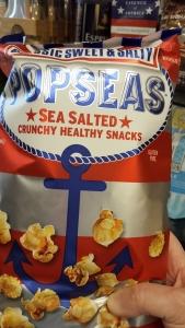 popcorn, kettle corn, sea salt, bargain, shopping, musing, S. A. Young