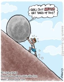 sisyphus cartoon best