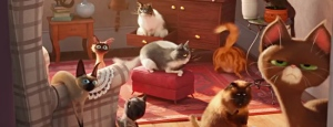 The Secret Life of Pets, musing, humor, cat, demon, S.A. Young, Alec