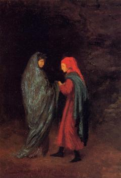 Dante and Virgil at the Entrance to Hell Edgar Degas