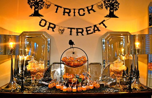 Halloween, trick-or-treat, S. A. Young, decorations