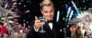 Leonardo DiCaprio, The Great Gatsby, friends, dinner, gratitude, S. A. Young
