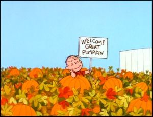 Linus, Great Pumpkin, Charles Schultz, S. A. Young, Halloween