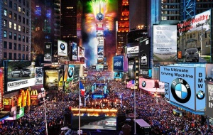 Times Square, shoes, Louboutin, Jimmy Choo, New Year's Eve, Candace, Kenna, Frankie, S.A. Young