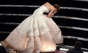 klutz, Monday, blogging, SA Young, Jennifer Lawrence, Getty Images