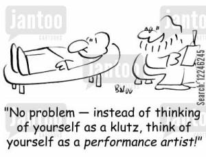 Baloo, klutz, Monday, blogging, SA Young, cartoon
